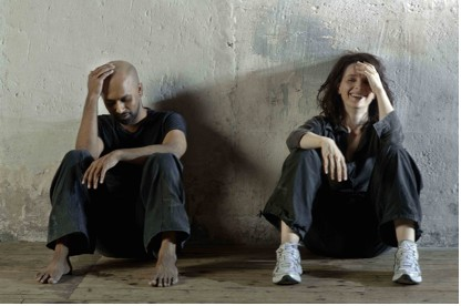 JULIETTE BINOCHE AND AKRAM KHAN